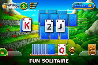 Solitaire Grand Harvest: Free Tripeaks Card Game - snímek obrazovky
