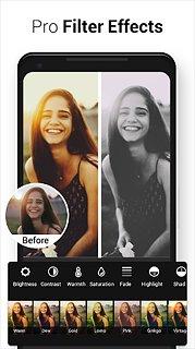 Photo Editor Pro - snímek obrazovky