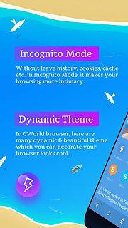 CWorld Browser - snímek obrazovky