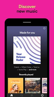 Spotify: Free Music and Podcasts Streaming - snímek obrazovky
