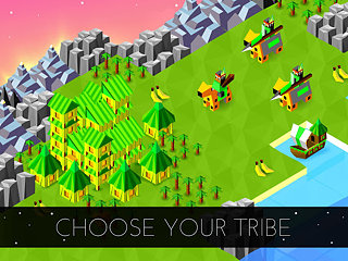 The Battle of Polytopia - An Epic Civilization War - snímek obrazovky
