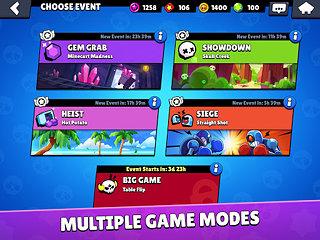 Brawl Stars - snímek obrazovky