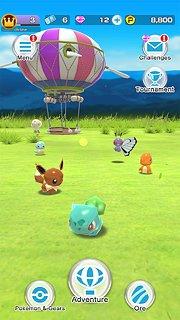 Pokémon Rumble Rush - snímek obrazovky