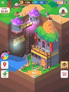 Idle Digging Tycoon - snímek obrazovky