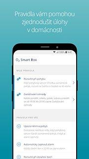 O2 Smart Box - snímek obrazovky