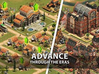 Forge of Empires: Build your City - snímek obrazovky