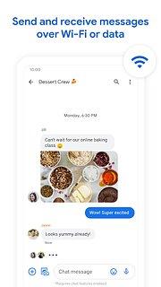 Messages - snímek obrazovky