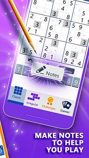 Microsoft Sudoku - snímek obrazovky