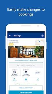 Booking.com Hotel Reservations - snímek obrazovky