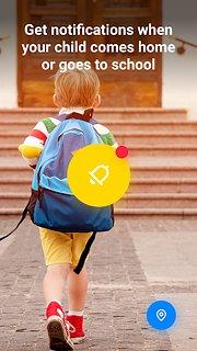 Find My Kids: Child GPS-watch & Phone Tracker - snímek obrazovky