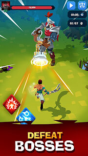 Mighty Quest For Epic Loot RPG - snímek obrazovky