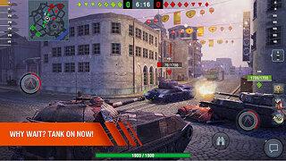 World of Tanks Blitz 3D PVP MMO online tank game - snímek obrazovky