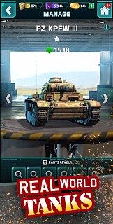 Atari Combat: Tank Fury RPG & Match 3 Games - snímek obrazovky