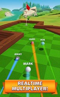 Golf Battle - snímek obrazovky