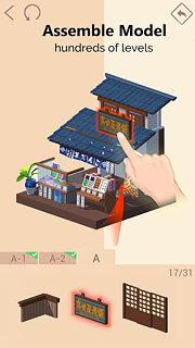 Pocket World 3D - Assemble models unique puzzle - snímek obrazovky