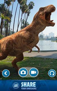 Jurassic World Alive - snímek obrazovky