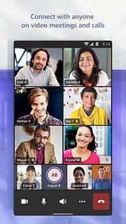 Microsoft Teams - snímek obrazovky