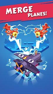 Merge Plane - Click & Idle Tycoon - snímek obrazovky
