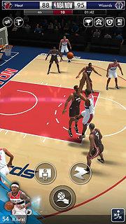 NBA NOW Mobile Basketball Game - snímek obrazovky