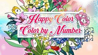 Happy Colour – Colour by Numbers - snímek obrazovky