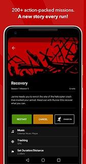 Zombies, Run! (Free) - snímek obrazovky