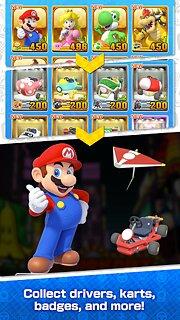 Mario Kart Tour - snímek obrazovky