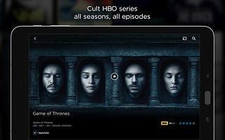 HBO GO - snímek obrazovky