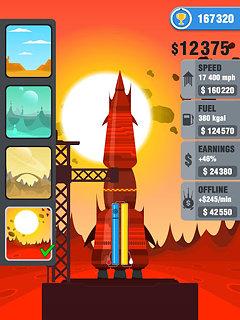 Rocket Sky! - snímek obrazovky