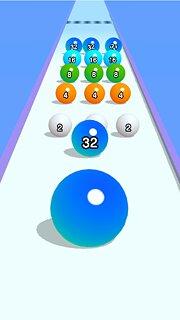 BallRun2048 - snímek obrazovky