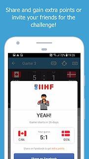 2019 IIHF powered by ŠKODA - snímek obrazovky