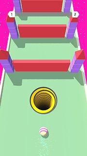 Hollo Ball - snímek obrazovky