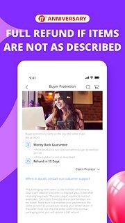 AliExpress - snímek obrazovky