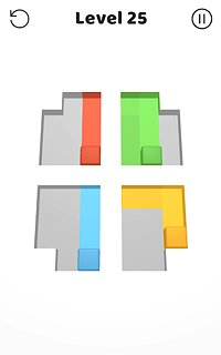 Color Swipe - snímek obrazovky