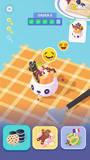 Ice Creamz Roll - snímek obrazovky