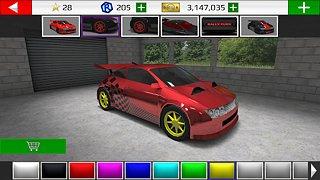 Rally Fury - Extreme Racing - snímek obrazovky