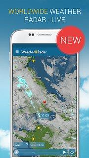 Weather & Radar UK - snímek obrazovky