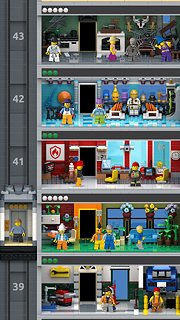 LEGO® Tower - snímek obrazovky