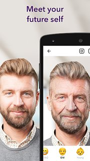 FaceApp - snímek obrazovky