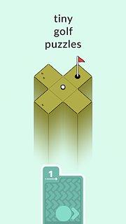 Golf Peaks - snímek obrazovky