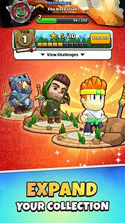 Magic Brick Wars - snímek obrazovky