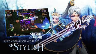 Musou Glory - snímek obrazovky