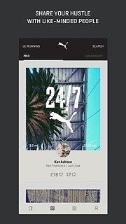 PUMATRAC - snímek obrazovky