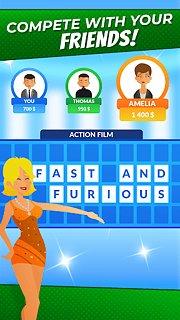 Wheel of Fortune - Quiz - snímek obrazovky