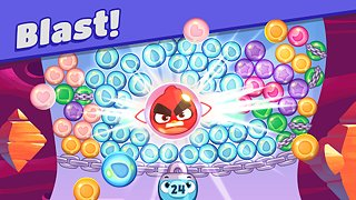 Angry Birds Dream Blast - Toon Bird Bubble Puzzle - snímek obrazovky