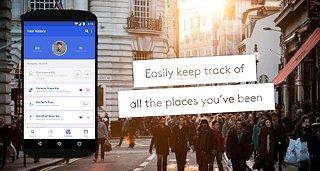 Foursquare - snímek obrazovky