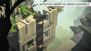 Lara Croft GO - snímek obrazovky
