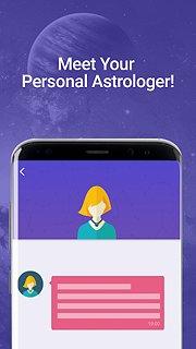 Astral Coach - snímek obrazovky