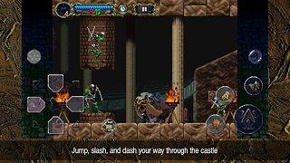 Castlevania: Symphony of the Night - snímek obrazovky