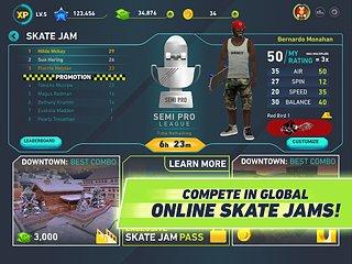 Tony Hawk's Skate Jam - snímek obrazovky