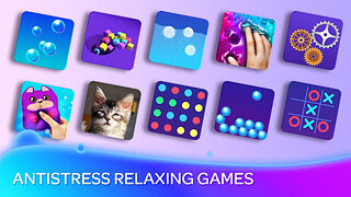 Anti Stress: Relaxing Games & Stress Relief - snímek obrazovky